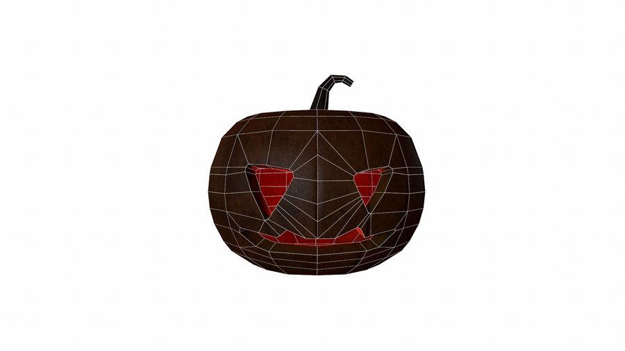 Pumpkin Halloween royalty-free 3d model - Preview no. 10