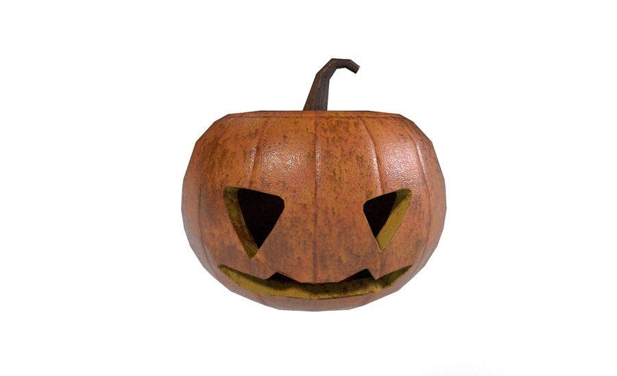 Pumpkin Halloween royalty-free 3d model - Preview no. 2