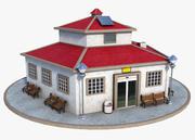 Business Building 3d model