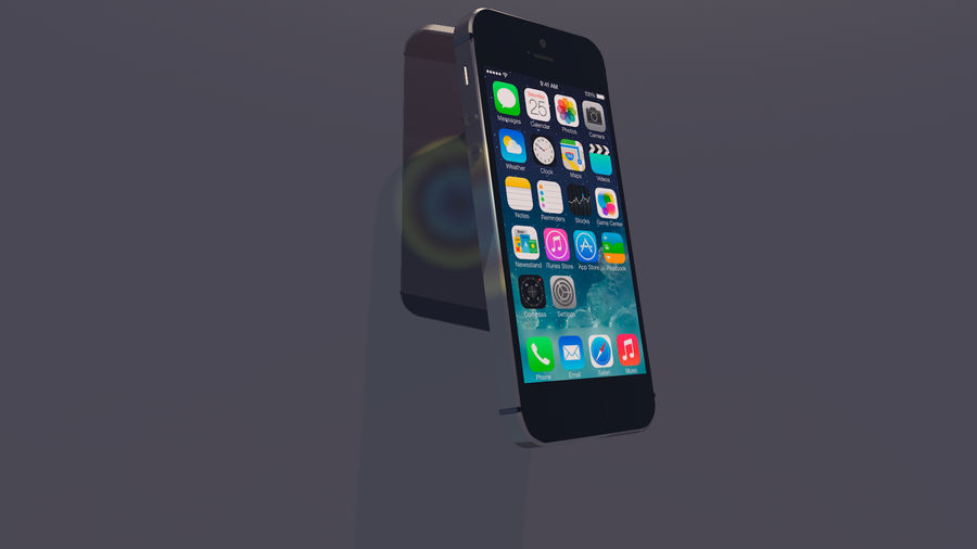 iPhone SE royalty-free 3d model - Preview no. 1