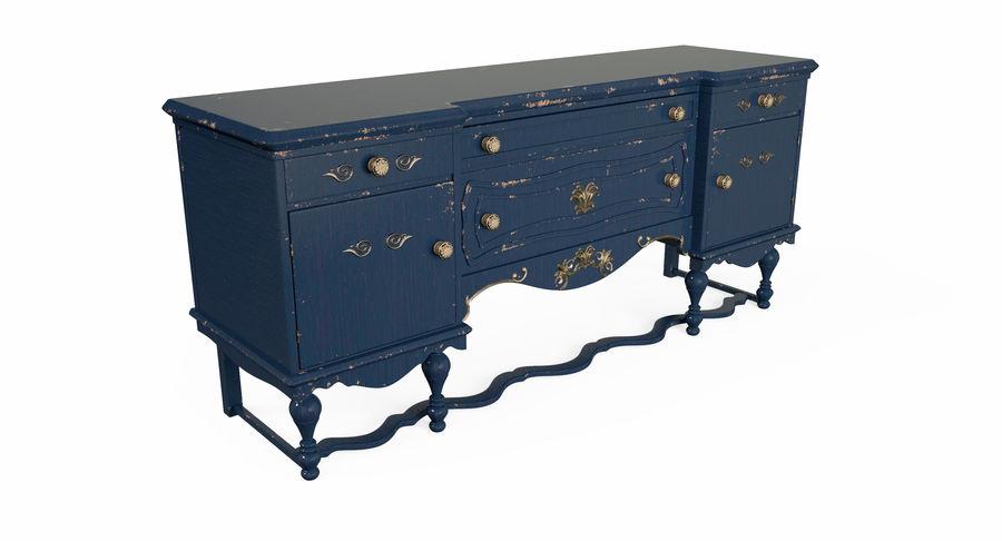 Muebles para conjunto de armario de pasillo royalty-free modelo 3d - Preview no. 10