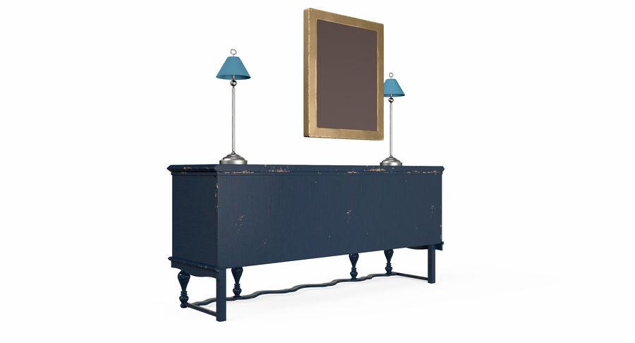 Muebles para conjunto de armario de pasillo royalty-free modelo 3d - Preview no. 8