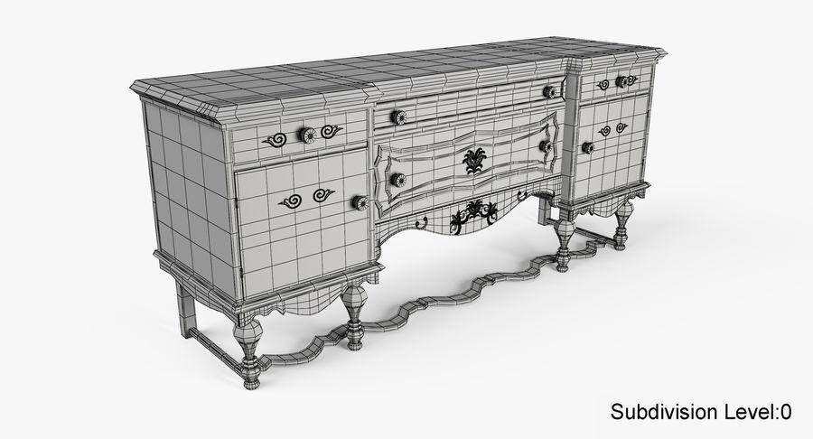 Muebles para conjunto de armario de pasillo royalty-free modelo 3d - Preview no. 20