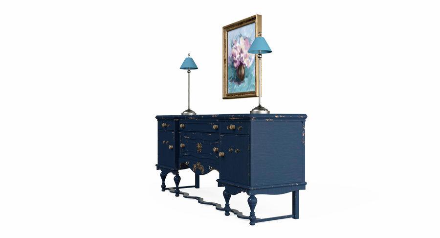 Muebles para conjunto de armario de pasillo royalty-free modelo 3d - Preview no. 6
