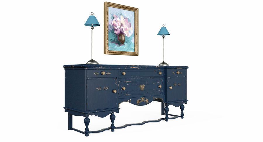 Muebles para conjunto de armario de pasillo royalty-free modelo 3d - Preview no. 4