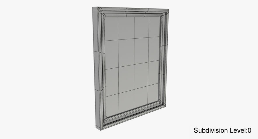Muebles para conjunto de armario de pasillo royalty-free modelo 3d - Preview no. 18