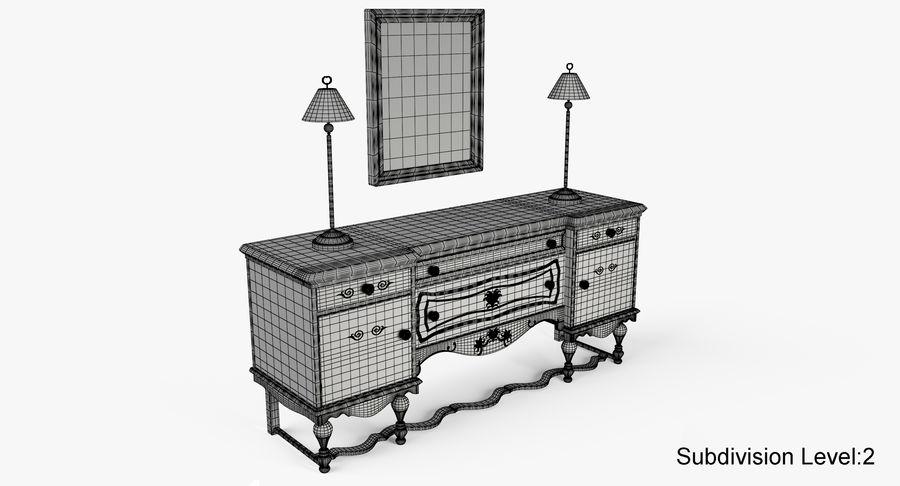 Muebles para conjunto de armario de pasillo royalty-free modelo 3d - Preview no. 17