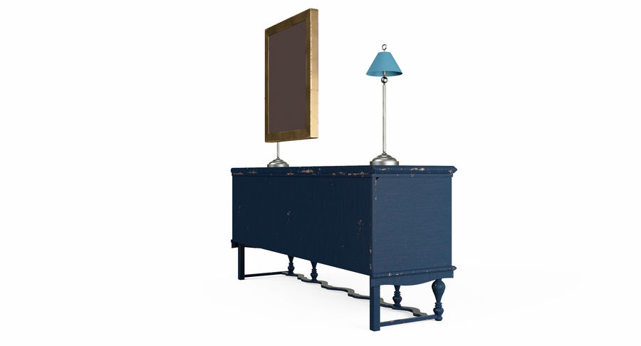 Muebles para conjunto de armario de pasillo royalty-free modelo 3d - Preview no. 9