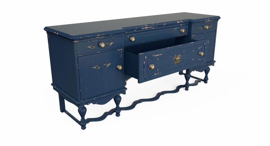 Muebles para conjunto de armario de pasillo royalty-free modelo 3d - Preview no. 13