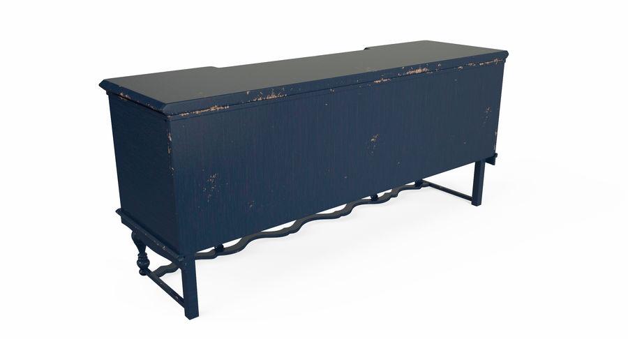 Muebles para conjunto de armario de pasillo royalty-free modelo 3d - Preview no. 11