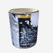 Used Paint Can 3d model