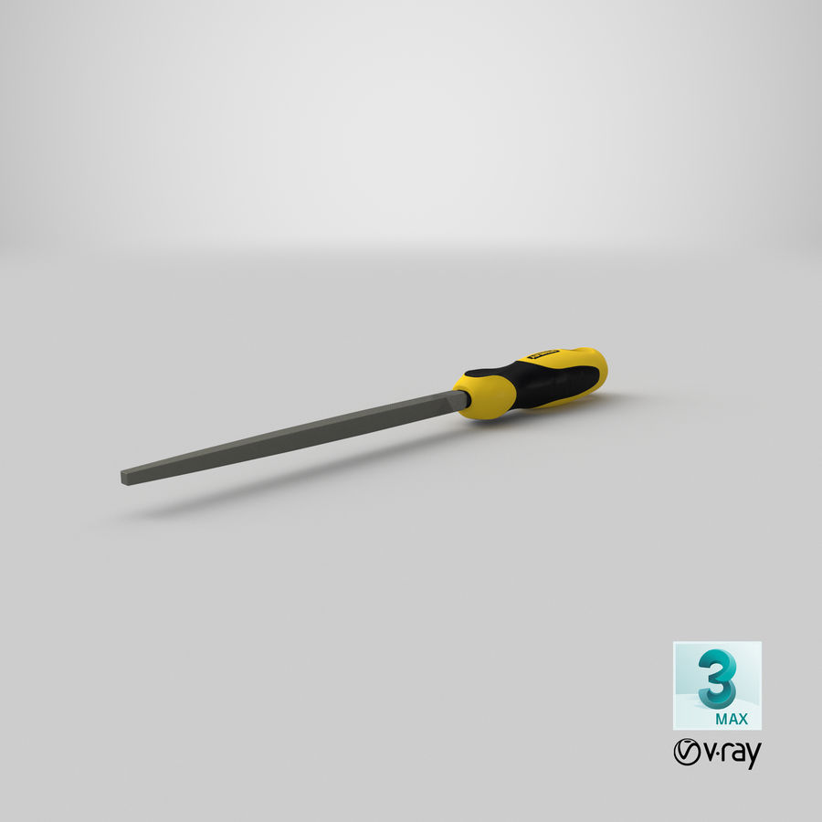 Square File 3D Model royalty-free 3d model - Preview no. 24