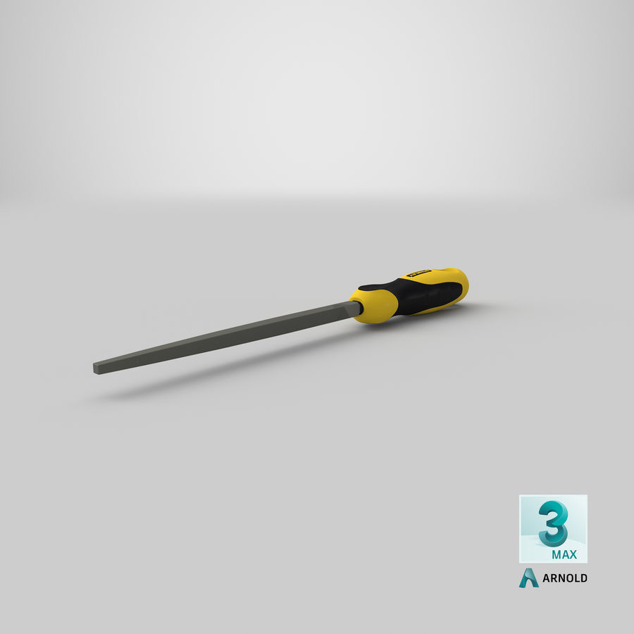 Square File 3D Model royalty-free 3d model - Preview no. 22