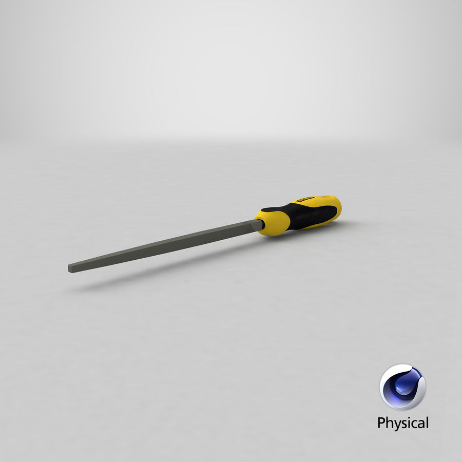 Square File 3D Model royalty-free 3d model - Preview no. 18