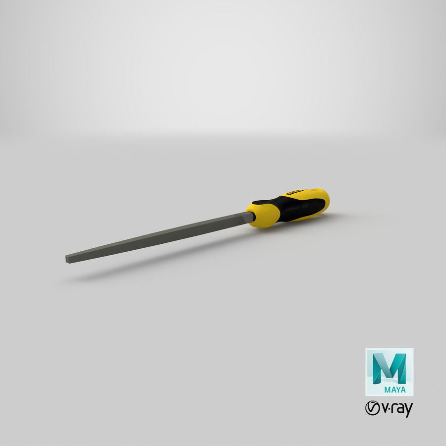 Square File 3D Model royalty-free 3d model - Preview no. 27