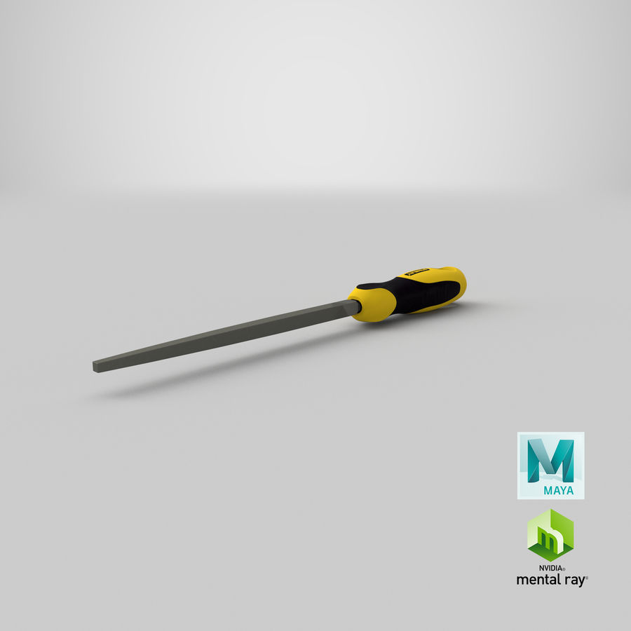 Square File 3D Model royalty-free 3d model - Preview no. 26