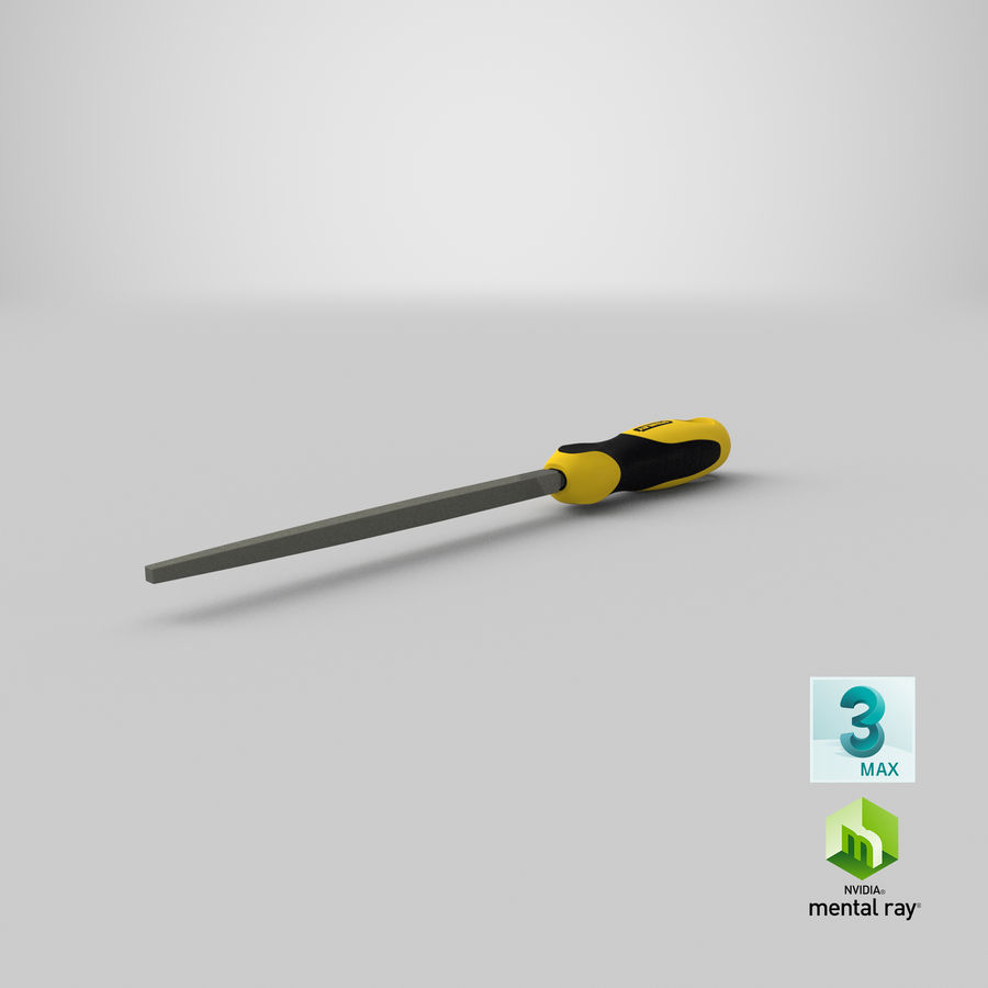 Square File 3D Model royalty-free 3d model - Preview no. 23