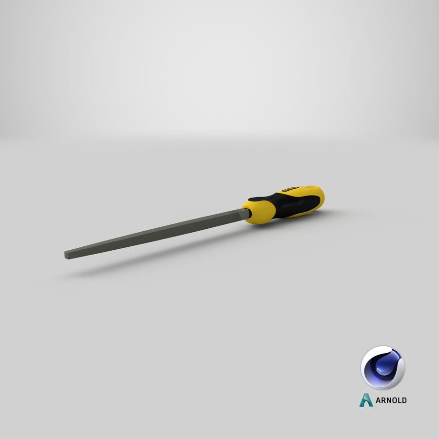 Square File 3D Model royalty-free 3d model - Preview no. 19