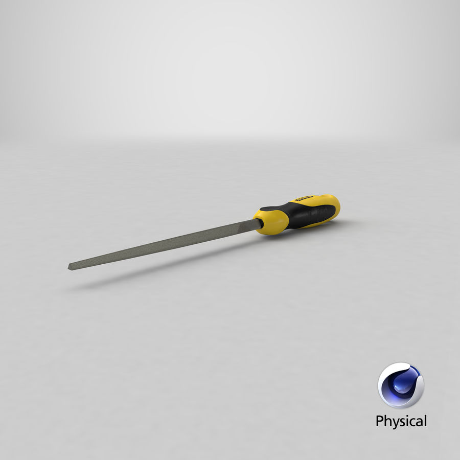 Triangle File royalty-free 3d model - Preview no. 20