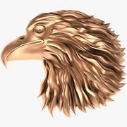 Eagle head X1 3d model
