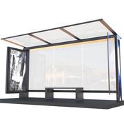 Przystanek autobusowy 3d model