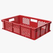 プラスチック製の箱3Dモデル 3d model