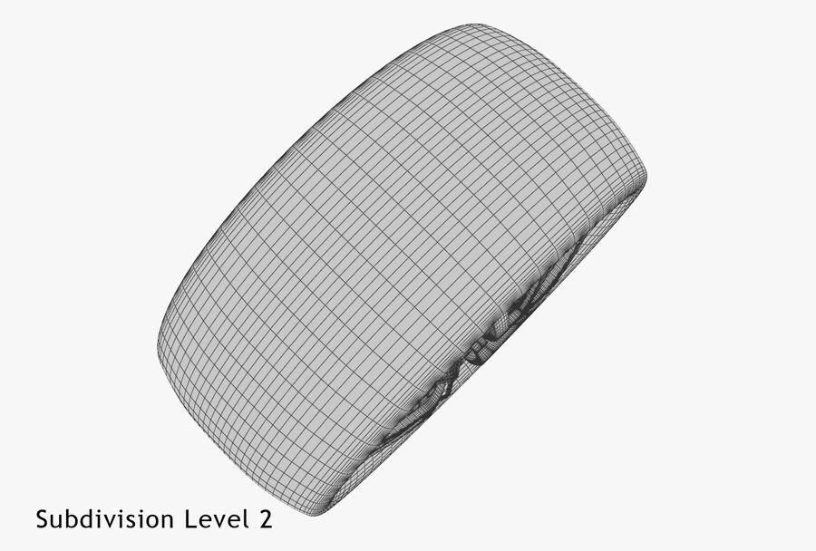 Car Wheel royalty-free 3d model - Preview no. 24