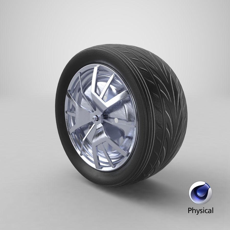 Car Wheel royalty-free 3d model - Preview no. 11