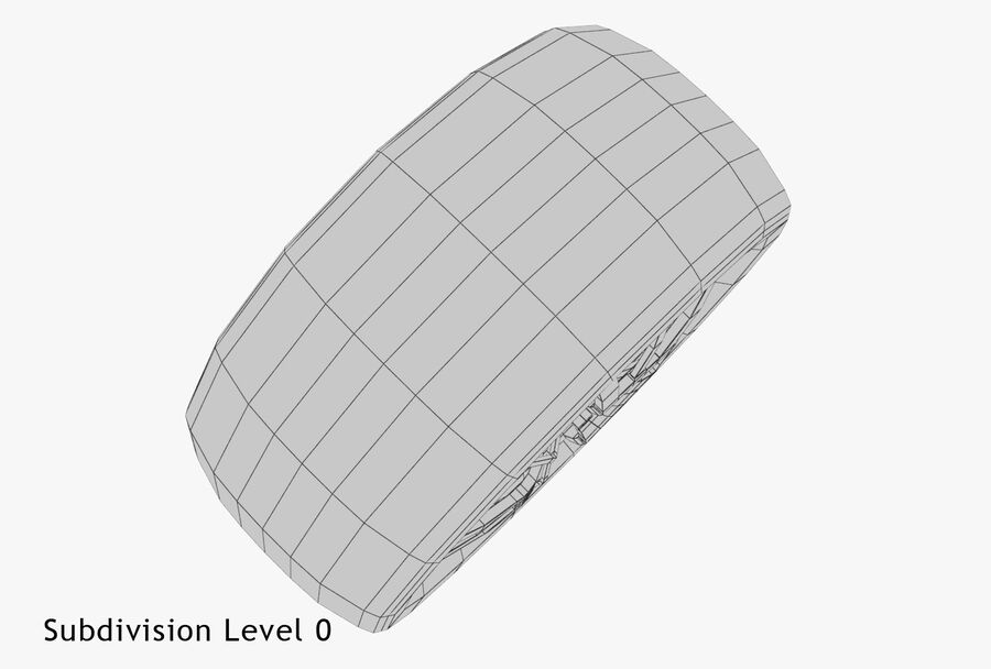 Car Wheel royalty-free 3d model - Preview no. 22