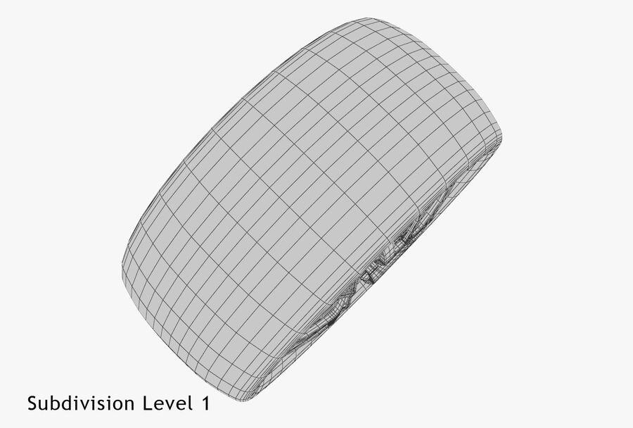 Car Wheel royalty-free 3d model - Preview no. 23