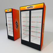싱글 및 더블 도어 냉장고 3d model