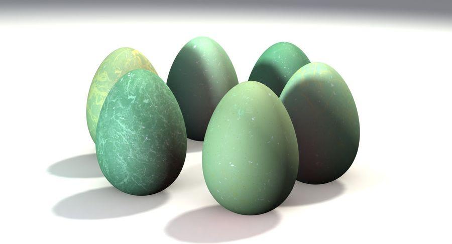 Des œufs royalty-free 3d model - Preview no. 8