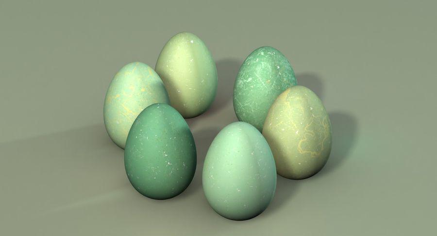 Des œufs royalty-free 3d model - Preview no. 2
