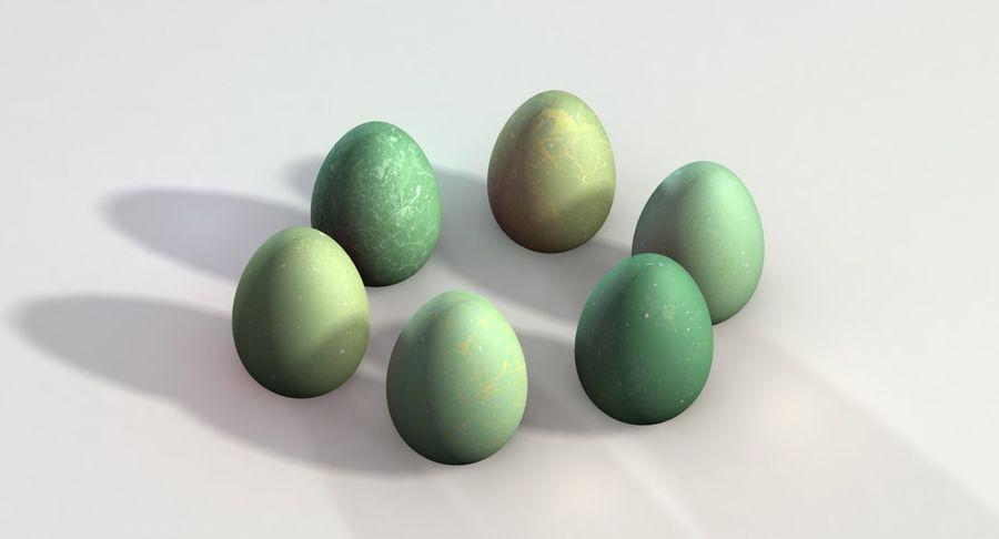 Des œufs royalty-free 3d model - Preview no. 7