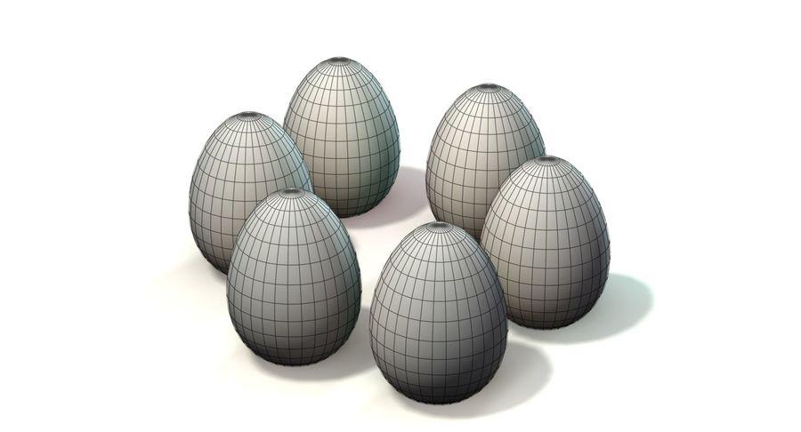 Des œufs royalty-free 3d model - Preview no. 11