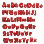 Balloon Alphabet Pack (1) 3d model