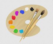 Konstmålningsverktyg 3d model