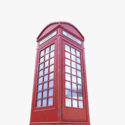 전화 부스 3d model