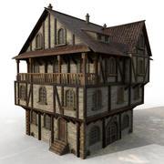 Medieval Block E 3d model