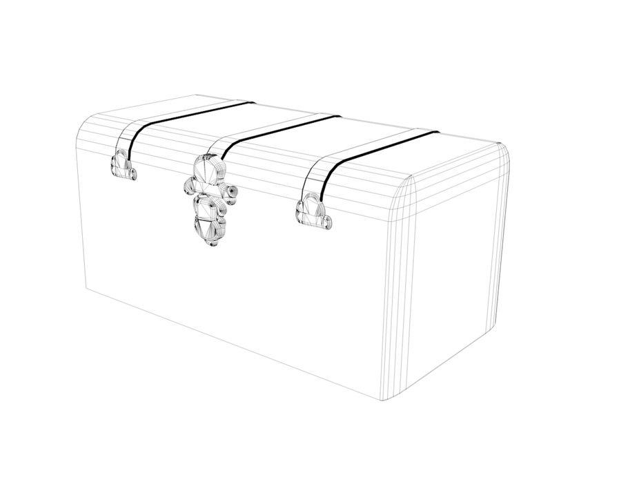 tronco royalty-free 3d model - Preview no. 3