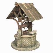 Water Well 3d model
