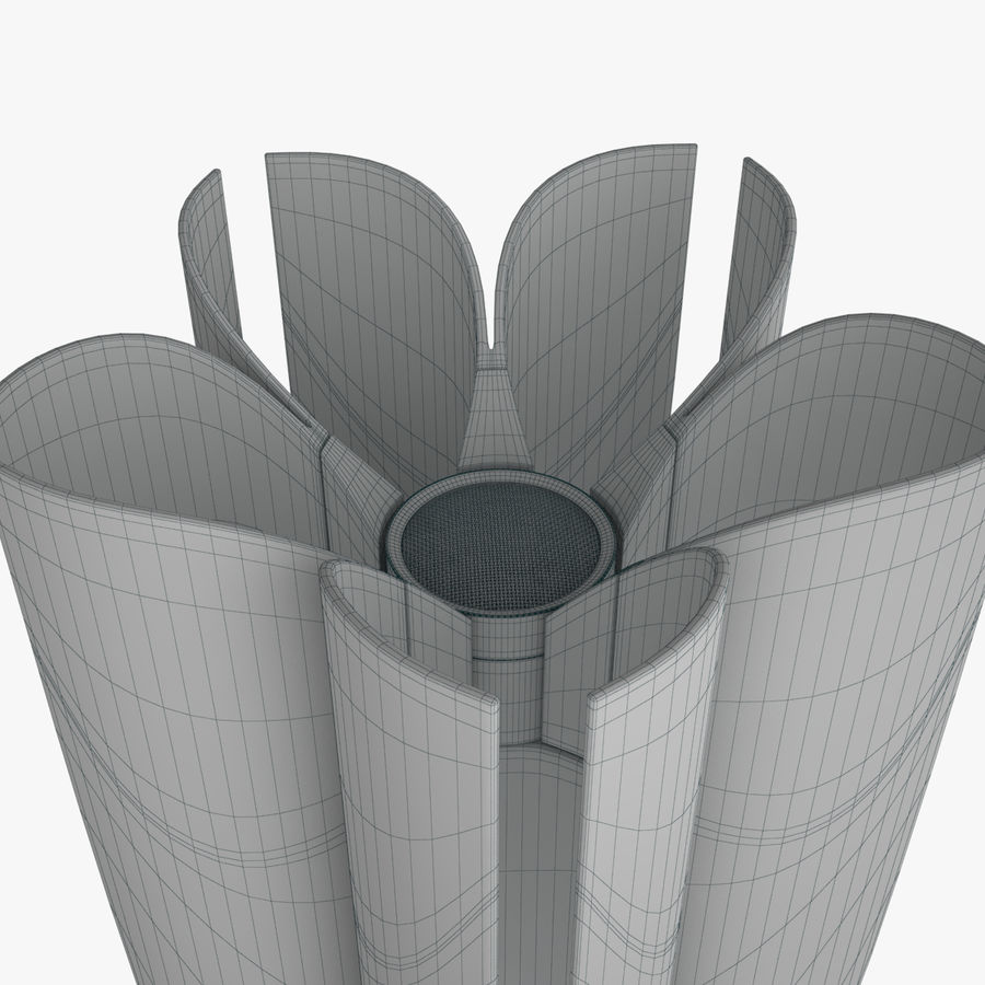 Torcia olimpica di Tokyo 2020 royalty-free 3d model - Preview no. 6