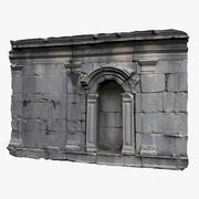 Muralla Medieval modelo 3d