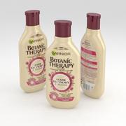 Garnier Botanic Therapy Ricinus Oil & Almond Shampoo 400ml 3d model