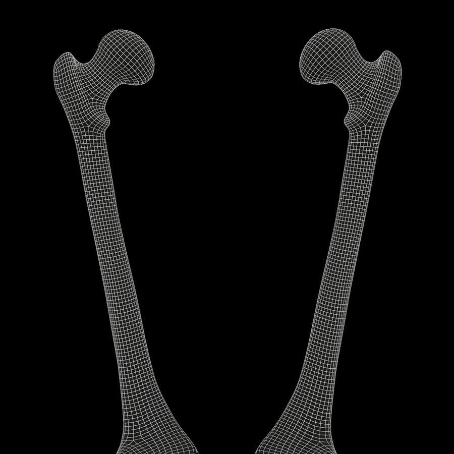 Anatomi Ben Fotben royalty-free 3d model - Preview no. 18