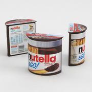Nutella & Go With Breadsticks 52g 3d model