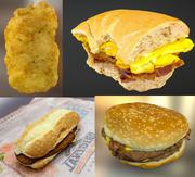 Fast food pack 3d model