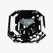 Diamond Asscher 3d model