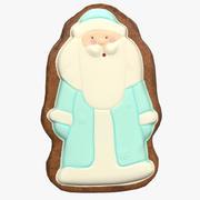 Gingerbread Santa 3d model