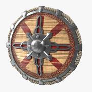 Viking Shield V4 3d model
